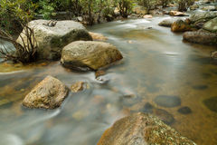 Water stream. Royalty Free Stock Photos