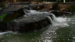 Water stream flow stock video footage