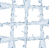 Water stream grate Stock Photography