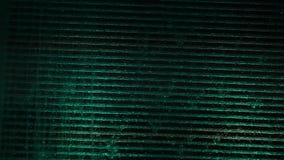 Water stream illuminated stock video