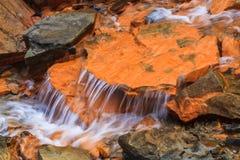 Water stream, Nova Scotia, Canada. Water stream at Joggings Fossil, , Nova Scotia, Canada royalty free stock image