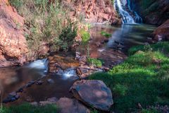 Water Stream in the mountains. Royalty Free Stock Photography