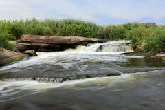 Water stream on river Royalty Free Stock Image