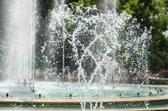 Water stream splashing Royalty Free Stock Photo