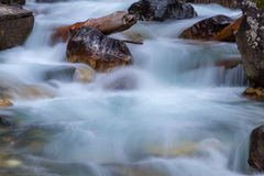Water stream stones Royalty Free Stock Images