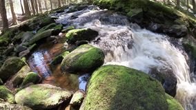 Water stream stock video