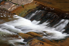 Water streams and cascades Stock Image