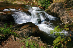 Water streams and cascades Royalty Free Stock Photography