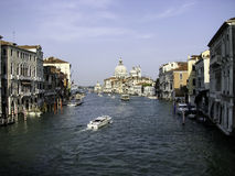 Water street in Venice Stock Image