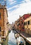 Water street in Venice Stock Image
