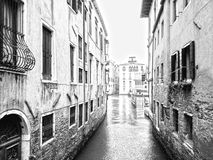Water streets of Venice Stock Image