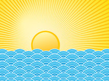 Water and sun Royalty Free Stock Photos
