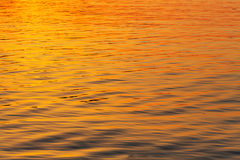 Water at sunset texture Royalty Free Stock Images