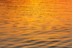 Water at sunset texture close up sea light Stock Image