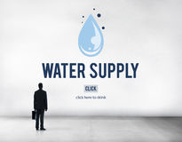 Water Supply Nature Irrigation Irrigating Plant Concept Royalty Free Stock Images