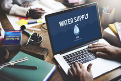 Water Supply Nature Irrigation Irrigating Plant Concept Royalty Free Stock Photos