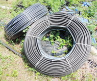 Water supply pipe Stock Images