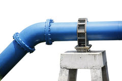 Water supply pipeline Royalty Free Stock Photos