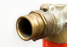 Water supply point. Equipment for fire fighting Royalty Free Stock Photo