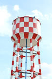 Water supply tank tower Royalty Free Stock Photography