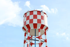 Water supply tank tower Royalty Free Stock Photo