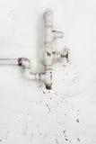 Water supply valve Stock Photo