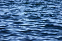 Water Surface. Salt water surface with small waves Stock Photography