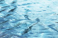 Water surface being rippled and waved by strong wind. For background or wallpaper.  stock photos