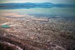 Dead Sea Water Surface. The water surface at the Dead Sea, Israel Royalty Free Stock Images