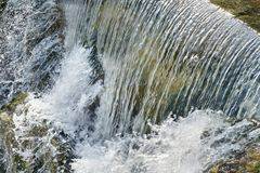 Free Water Surface Flow, Close Up Of Waterfall Royalty Free Stock Photos - 102422858