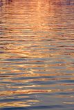 Water surface gold Royalty Free Stock Photos