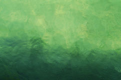 Water surface. With green-blue buttom Royalty Free Stock Photo
