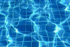 Water surface in pool Royalty Free Stock Photo