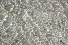Water surface and reflections Royalty Free Stock Photography