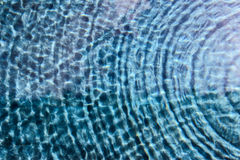 Water surface ripple. Stock Images