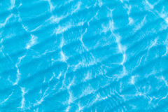 Water surface and sand at the bottom Royalty Free Stock Photography