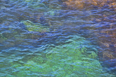 Water surface with small waves Royalty Free Stock Image