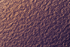Water surface at sunset - view from above Stock Photo