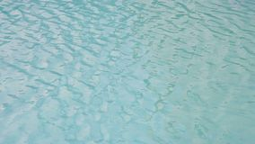 Water surface texture, Slow motion looping clean swimming pool ripples and wave, Refraction of sunlight top view texture