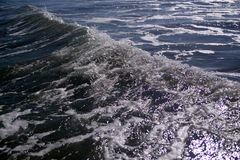 Black Sea - Water surface Stock Photography
