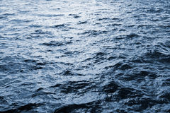 Water surface with waves Royalty Free Stock Images