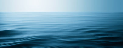 Water surface. With waves and ripples as background Stock Photo