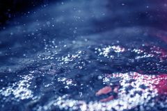 Water surface with waves. Stock Images
