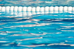 Water in a swimming pool Stock Image