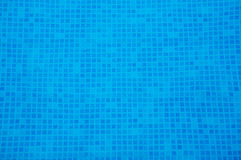 Water of swimming pool Stock Photos
