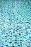 Water in swimming pool. Water in the swimming pool Stock Photography