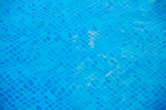 Water of swimming pool Royalty Free Stock Photo