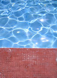 Water in swimming pool Royalty Free Stock Images