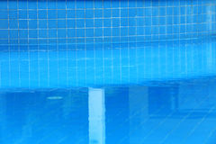 Water in swimming pool Royalty Free Stock Photo