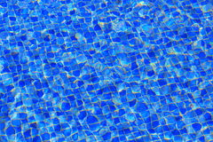 Water in swimming pool Stock Photography
